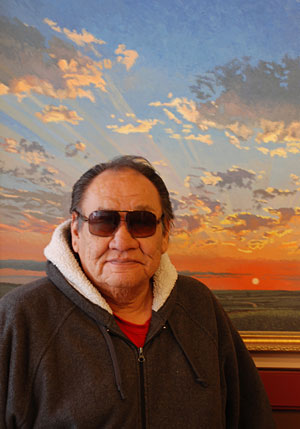 Native American artist sale and reception