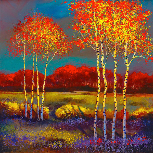 Most Popular Contemporary Artists meet ford smith | contemporary landscapes painter - ashley's art