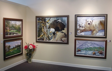 1 of 8 rooms filled with great art