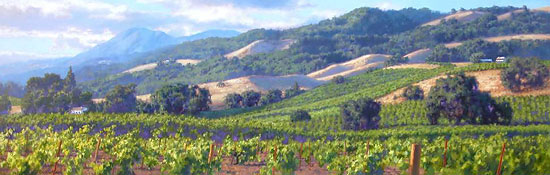 Meet vineyard and landscape painter June Carey