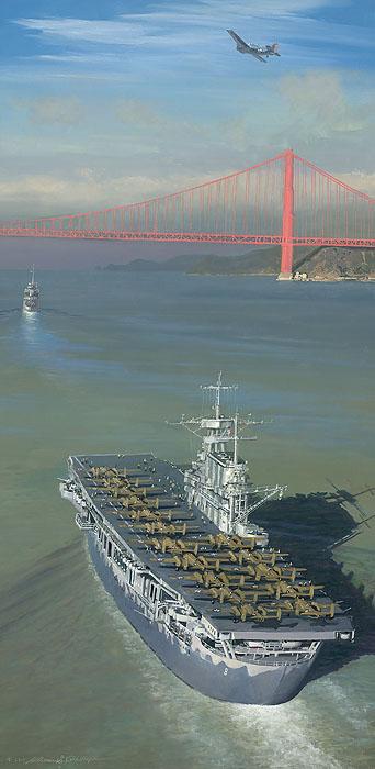 Doolittle Raider airplanes in San Fransico