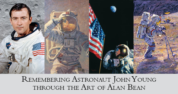 through the art of Alan Bean